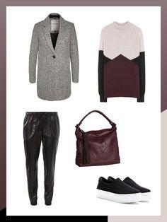 What to wear to work: Strickpulli gegen Pailletten-Top tauschen - und der Casual Friday-Look ist ausgehtauglich!