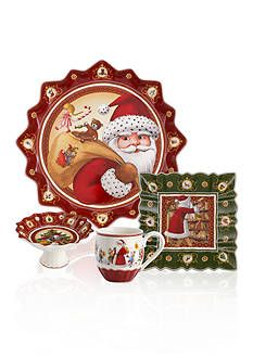 Celebrate the season by using the Holiday Inspirations and Illustrations dinnerware collection that's filled with joyous symbols of the season to liven up your table. Christmas Dinnerware, Christmas Dishes, Serving Dishes, Gift Guide, Decorative Plates, Fantasy, Holiday Decor, Flatware, Illustration