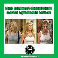Come convincere #generazioni di #maschi a guardare la #tv #bastardidentro www.bastardidentro.it