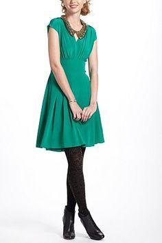 Draped Tieback Dress