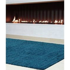 benuta Swirls Shaggy Deep-Pile Rug, Synthetic Fibre, without Harmful Substances modern 160 x 230 cm brown Living Room White, White Rooms, Rugs In Living Room, Home And Living, Living Spaces, Living Room Color Schemes, Bleu Turquoise, Room Colors, Home Textile