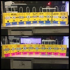 DIY minion goody bags