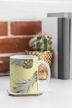 Summer fruits, all. day. long. Lisa Argyropoulos Pineapple Jam DENY Designs Coffee Mug