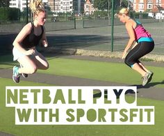 SportsFit's Marnie has put together an awesome netball plyometrics workout to help you jump higher and run faster in the new netball season.