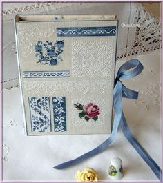 Isadarena Passions: For a Lady who loves Roses ... AMAP Beautiful job on the stitchers book.
