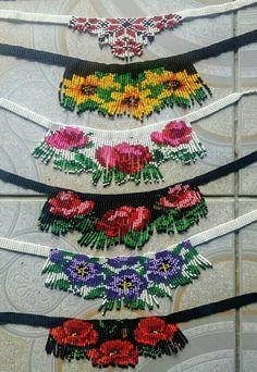 Seed Bead Jewelry, Bead Jewellery, Beaded Jewelry, Jewelry Bracelets, Loom Patterns, Beading Patterns, Beading Tutorials, Handmade Beads, Handmade Jewelry