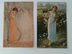 Old Postcards, Painting, Art, Craft Art, Paintings, Kunst, Gcse Art, Draw, Drawings