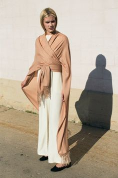 Ryan Roche - Rose Sable Heavy Woven Cape | BONA DRAG
