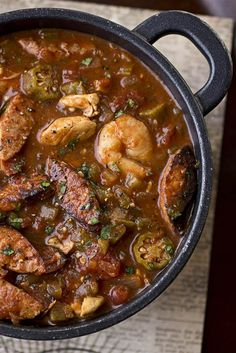 Gumbo-laya from the Cozy Apron