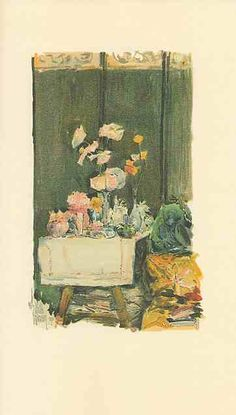 A favorite corner ~ from 'An Island Garden' by Celia Thaxter