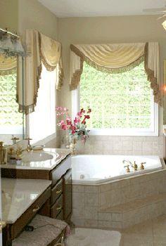 Corner Tub With Gl Block Windows