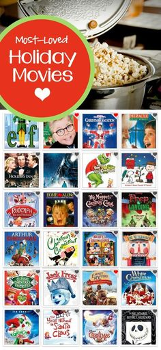 Most-Loved Family Holiday Movies: Christmas movies new and old selected and voted on by parents
