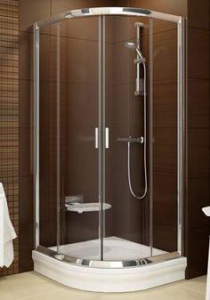 Sprchový kout Ravak Blix čtvrtkruh 90 cm, neprůhledné sklo, satin profil Bathroom Inspiration, Bathroom Lighting, Rave, Towel, Bathtub, Mirror, Furniture, Home Decor, Satin