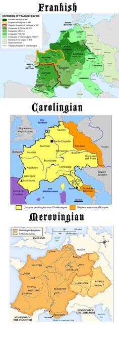 The Franks, Carolingians and Merovingians. Just who the hell were they?