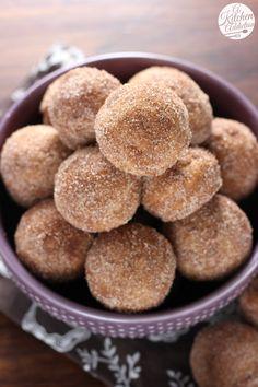Easy Cinnamon Sugar Chai Donut Muffins from A Kitchen Addiction