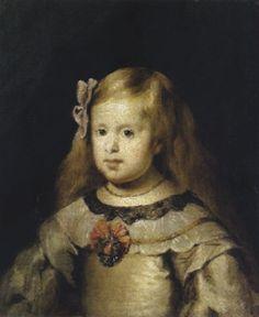 Die Infantin Margarita Teresa im Alter von fünf Jahren by Diego Velázquez on artnet Austria, Infanta Margarita, Global Art, Art Market, Alter, Children, Artwork, People, House