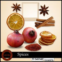 Spices Elements EXCLUSIVE by Happy Scrap Arts