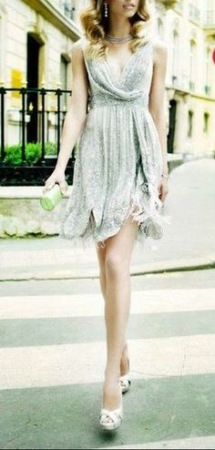 Glam sparkly dress