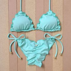 - Bikini Underwear - Ideas of Bikini Underwear Cute Swimsuits, Cute Bikinis, Women Swimsuits, Bathing Suit Skirt, Cute Bathing Suits, Trendy Outfits, Cool Outfits, Moda Chic, Bikini Outfits