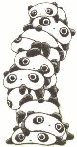 I'm such a Tarepanda fan! Combines two of my favorite things: being lazy and pandas!