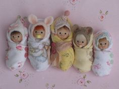 FiVe LiTTLe BuNdLeS! by ElfinHugs, via Flickr