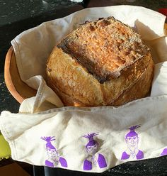 Judy's sourdough bread -once you get started you just can't stop it is so delicious! More at www.stowefarm.org