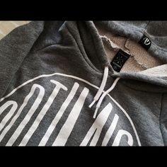 Optimist Grey Hoodie S - Apt B collective Super great quality. 10/10 let me know if you need more pictures. Apt B collective Tops Sweatshirts & Hoodies