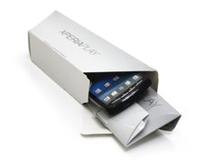 XPERIA PLAY Mini POS Display on Packaging of the World - Creative Package Design Gallery