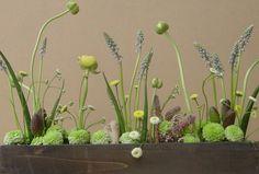 Beautiful flower arrangements from Dandelionranch :: Easter Garden Box.