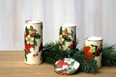 Świeczniki na stół świąteczny owalne Xmas, Table Decorations, Furniture, Home Decor, Decoration Home, Room Decor, Christmas, Navidad, Home Furnishings