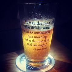 Die Angst des Biertrinkers