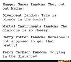 **divergent fandom: Tris died in the books! *sobs* (nothing compares to how bad the Percy Jackson movies are) * a tear rolls down face* Percy Jackson Quotes, Percy Jackson Fan Art, Percy Jackson Books, Percy Jackson Fandom, Magnus Chase, Tribute Von Panem, Oncle Rick, Divergent Fandom, Rick Y