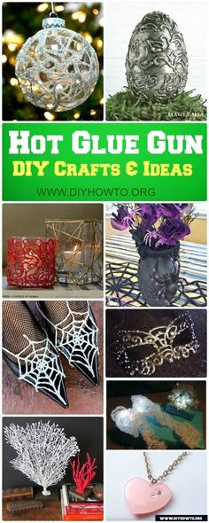 DIY Hot Glue Gun Crafts Ideas (Picture Instructions)Fun+Hot+Glue+Gun+Crafts+You+Can+Play+With+via+DIY How amazing crafts to do with your Hot Glue Gun - A girl and a glue gunToday I have a super fun roundup for AMAZINGLY Glue Gun Projects, Glue Gun Crafts, Sand Crafts, Cool Art Projects, Crafts To Do, Crafts For Kids, Diy Crafts, Garden Crafts, Recycled Crafts