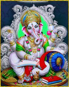 Ganesh Pic, Shri Ganesh Images, Ganesh Chaturthi Images, Hanuman Images, Ganesha Pictures, Ganesh Wallpaper, Lord Shiva Hd Wallpaper, Lord Vishnu Wallpapers, Shiva Art