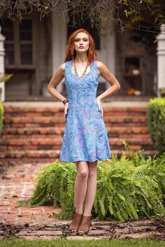 Perfect Brunch Batik Dress