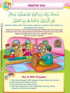 Buku Pintar Super Lengkap 101 Doa Harian Anak Soleh adalah buku doa bergambar yang dilengkapi bacaan khat doa, teks latin cara membaca doa,dan terjemahan. Doa Islam, Islam Quran, Muslim Quotes, Islamic Quotes, History Of Islam, Let's Pray, Islam For Kids, Learn Islam, Islamic Messages