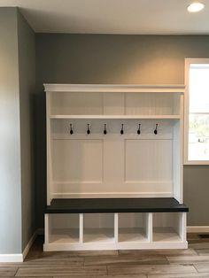 Deposit for Custom Mudroom Entryway locker perfect for any mudroom Mudroom Cabinets, Entryway Cabinet, Entryway Shoe Storage, Laundry Room Storage, Mudroom Cubbies, Garage Mudrooms, Mudroom Benches, Door Entryway, Laundry Hamper