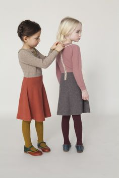 Ann, if you see this post I thought of your girls :) beautiful knit little girls dresses...those saddle shoes!