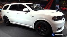 2018 Dodge Durango SRT - Exterior and Interior Walkaround - Debut at 201...