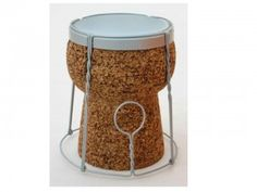 ItalianDesignNetwork_       _Cork-stool  _ Pierfrancesco Arnone  _ interior designer_                                    _ _product designer_