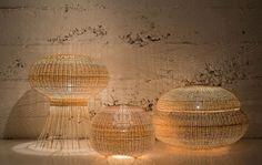 Wicker lamp #FloorLamp #DesignLamp @idlights
