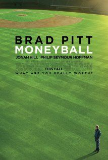 New trailer for Bennett Miller's adaptation of Michael Lewis' Moneyball starring Brad Pitt, Jonah Hill, and Philip Seymour Hoffman. Oscar 2012, Brad Pitt, Best Movie Posters, Original Movie Posters, Film Posters, Cinema Posters, Really Good Movies, Great Movies, Actresses