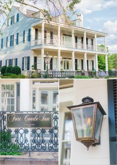 fort conde inn wedding venue http://www.weddingchicks.com/2013/10/09/elegant-southern-wedding/