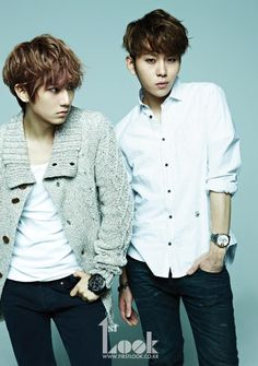 BEAST Hyunseung and Junhyung~~~~these two.....UGH.