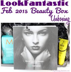 LookFantastic Beauty Box February 2015 unboxing, review