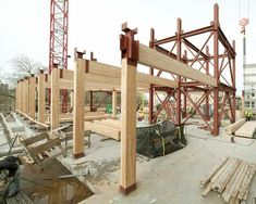 Is green building movement enough to revive use of heavy timber for framing in construction?
