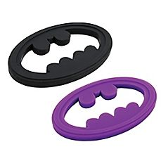 Combat the pain and discomfort of teething with a DC Comics Silicone Teether from Bumkins. Crafted of food-grade silicone, this teether features your favorite superhero's logo and can be placed in your freezer for added cooling relief of achy gums. Buy Buy Baby, Little Monsters, Superhero Logos, Dc Comics, Bath, Canada, Teething, Jelly, Preschool