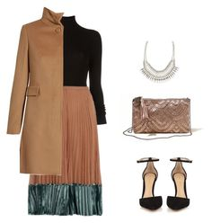 """""""Christmas time"""" by candynena228 ❤ liked on Polyvore featuring BLK DNM, Valentino, MaxMara, Gianvito Rossi, Hollister Co. and ALDO"""