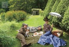 VOGUE MAGAZINE The Custom of The Country by Annie Leibovitz. Grace Coddington, September 2012,