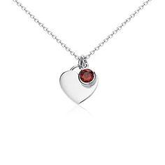 Garnet Jewelry - January Birthstone Jewelry | Blue Nile $50